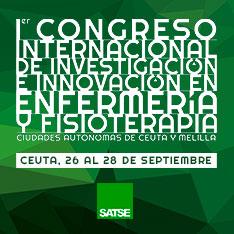Póster/Comunicación Oral I Congreso Internacional de Investigación e Innovación en Enfermería y Fisioterapia 'Ciudades autónomas de Ceuta y Melilla'