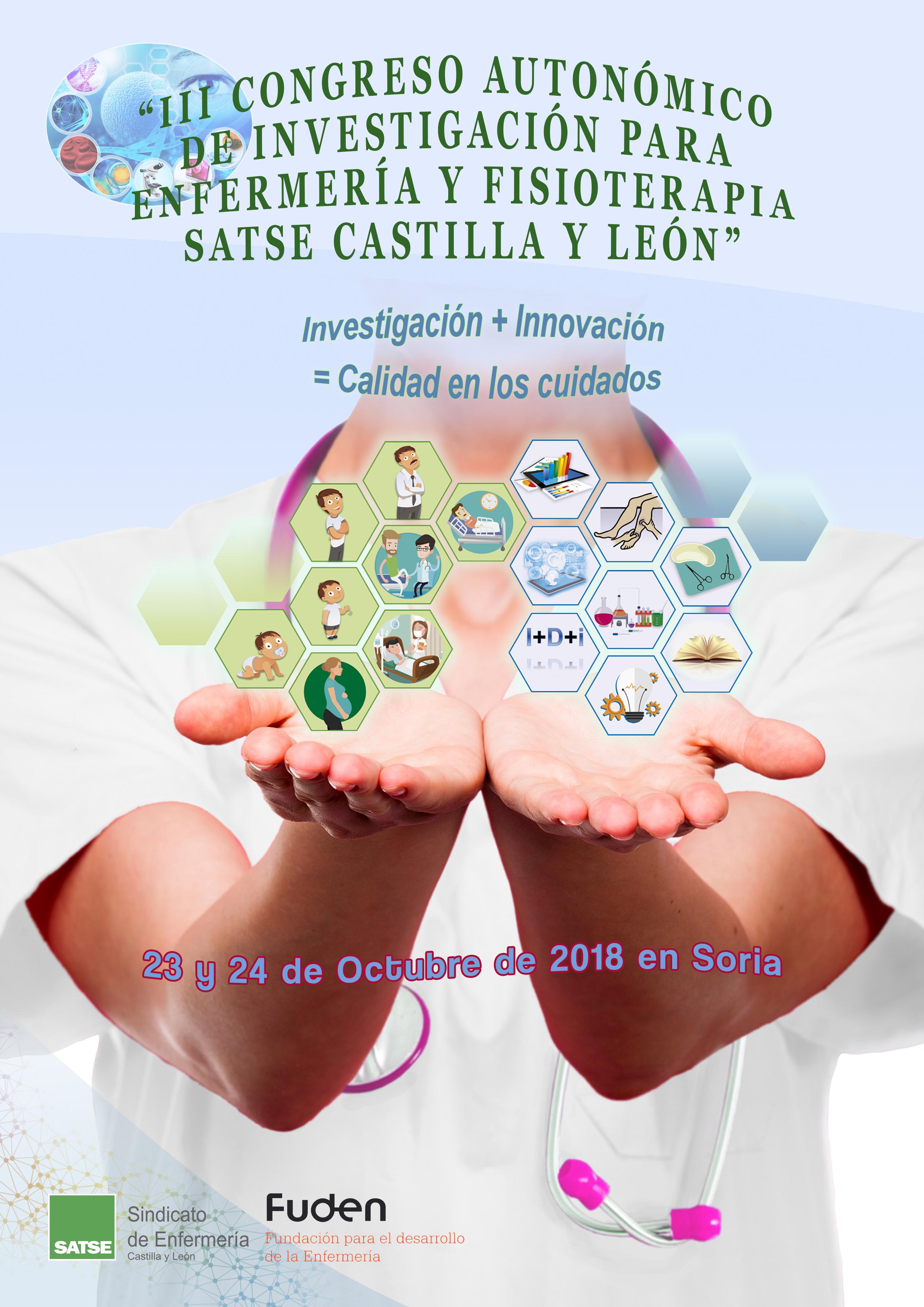 III CONGRESO AUTONÓMICO DE INVESTIGACIÓN PARA ENFERMERÍA Y FISIOTERAPIA SATSE CASTILLAY LEÓN