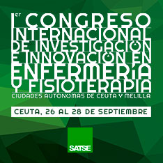 I Congreso Internacional de Investigación e Innovación en Enfermería y Fisioterapia 'Ciudades autónomas de Ceuta y Melilla'